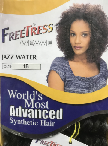"FREETRESS JAZZ WATER  WEAVE 8"" - SHAKE N-GO"